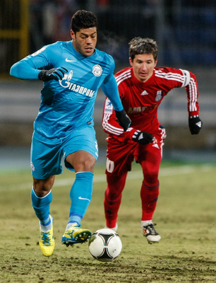 Hulk Soccer Player 2013